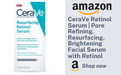 CeraVe Retinol Serum | Pore Refining, Resurfacing, Brightening Facial Serum with Retinol