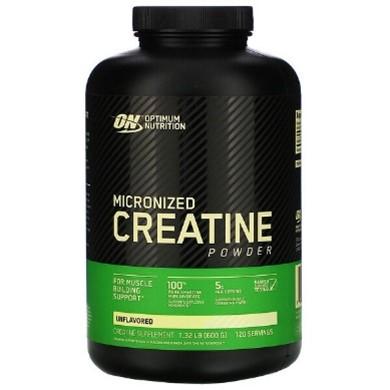 Optimum Nutrition, Micronized Creatine Powder, Unflavored